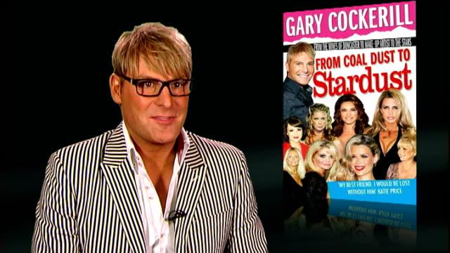 gary cockerill interview; england: london: int gary cockerill interview sot - on his book 'from coal dust to stardust' - on working down a coal mine... - レイチェル ハンター点の映像素材/bロール