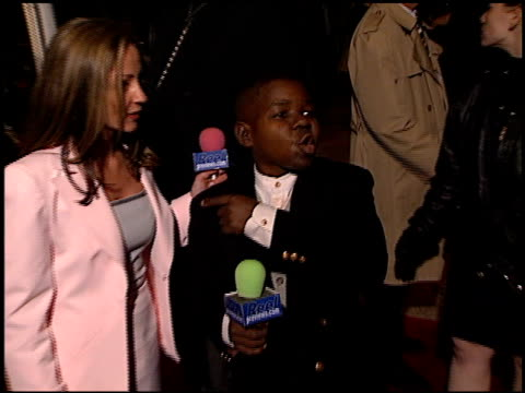 gary coleman at the 'go' premiere at the cinerama dome at arclight cinemas in hollywood, california on april 7, 1999. - arclight cinemas hollywood stock videos & royalty-free footage