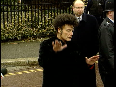 gary glitter appears in court on child abuse charges; file / tx 11.1.00 england: london: regents park: ext glitter posing for photocall on his... - gary glitter stock videos & royalty-free footage