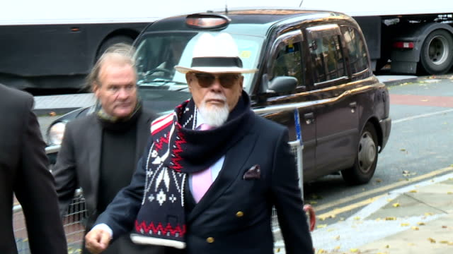 gary glitter arrival and departure from southwark crown court england london southwark crown court photography *** gvs gary glitter getting out of... - gary glitter stock videos & royalty-free footage
