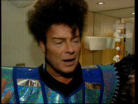 gary glitter questioned by police; gary glitter intvwd - when you are standing there feeling as pure as you possibly can then it is a tremendous rush - gary glitter stock videos & royalty-free footage