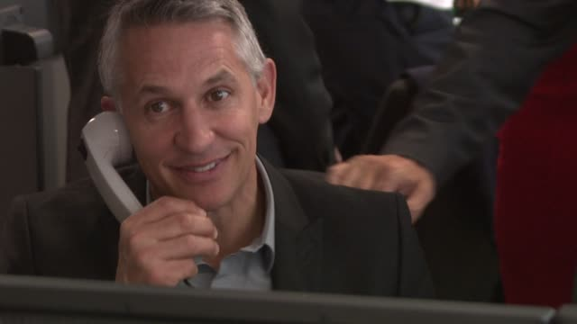 Gary Lineker at BGC Annual Global Charity Day at BGC Partners on September 11 2012 in London England