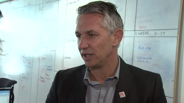Gary Lineker on trading Olympics and fundraising at BGC Annual Global Charity Day at BGC Partners on September 11 2012 in London England