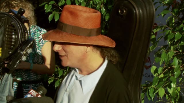 gary lucas at the 3rd annual musicares map fund benefit concert at music box theater in hollywood, california on may 11, 2007. - benefit concert stock videos & royalty-free footage