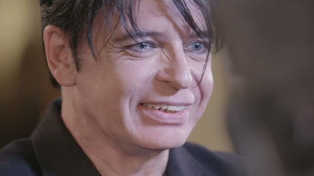 gary newman at ivor novello awards at grosvenor house on may 18 2017 in london england - gary numan stock videos & royalty-free footage