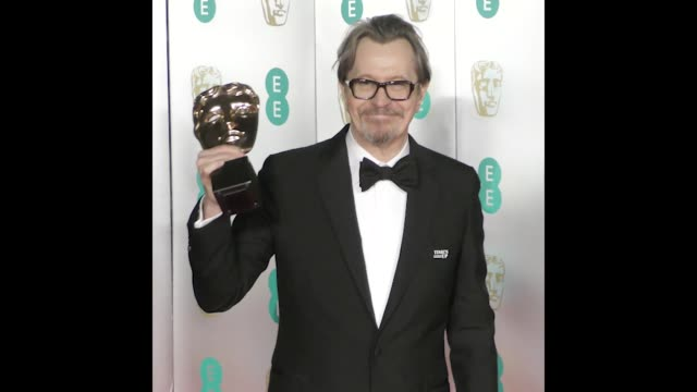 gary oldman at bafta after party - gary oldman stock videos & royalty-free footage