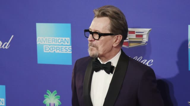 Gary Oldman at the 29th Annual Palm Springs International Film Festival Awards Gala at Palm Springs Convention Center on January 02 2018 in Palm...