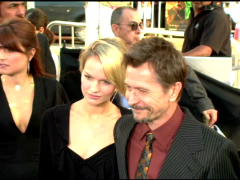 Gary Oldman at the Batman Begins Premiere at Grauman's Chinese Theatre in Hollywood California on June 6 2005