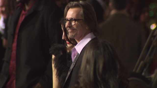 Gary Oldman at the 'The Book Of Eli' Premiere at Hollywood CA