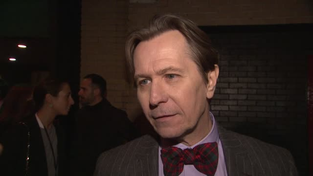 Gary Oldman on all of the Oscars talk how he tries not to get caught up in it On what TTSS is all about what makes it so unique On being familiar...