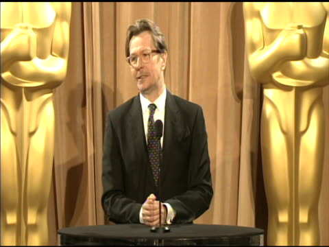 Gary Oldman on being honored to be a nominee at the 84th Academy Awards Nominations Luncheon in Beverly Hills CA on 2/6/12