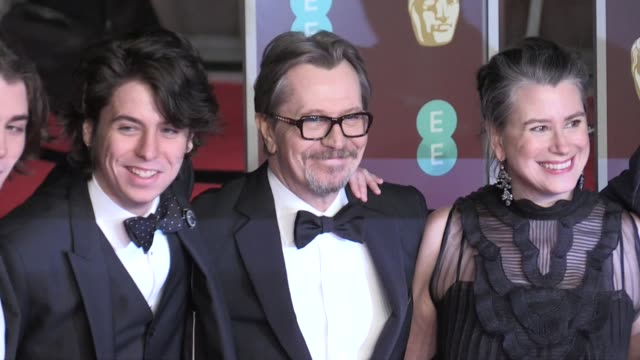 Gary Oldman on the red carpet of the 2018 BAFTA award ceremony in London London UK 18th february 2018
