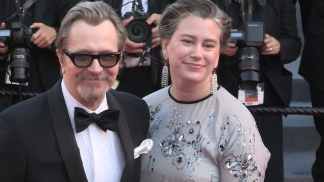 Gary Oldman on the red carpet of the 2018 Cannes Film festival closing ceremony Cannes France 19th May 2018