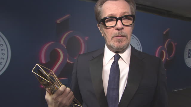 INTERVIEW Gary Oldman on winning Variety Award working in America Britain always being home on thinking about retirement his passion for photography...