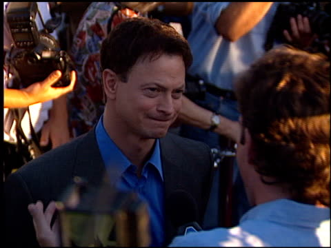 Gary Sinise at the 'Snake Eyes' Premiere at Paramount Theater in Hollywood California on July 30 1998