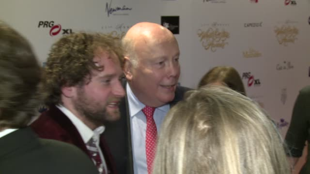 gary trainor, julian fellowes at prince of wales theatre on february 19, 2017 in london, england. - julian fellowes stock videos & royalty-free footage