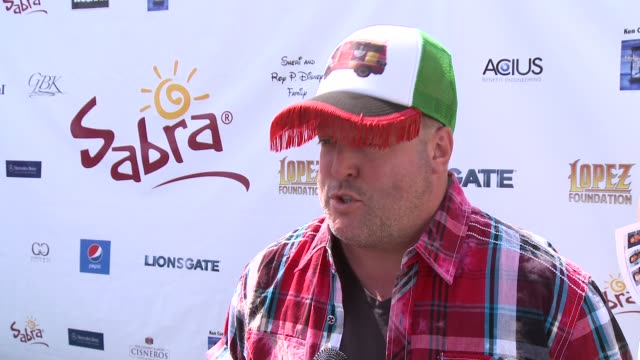 INTERVIEW Gary Valentine on being a part of the afternoon at The 7th Annual George Lopez Celebrity Golf Classic Presented By Sabra Salsa at Lakeside...