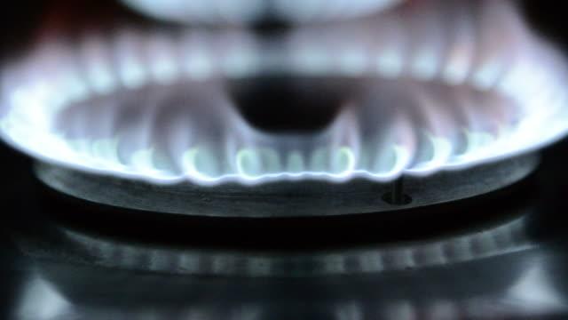 flame, Gas-Kochfeld