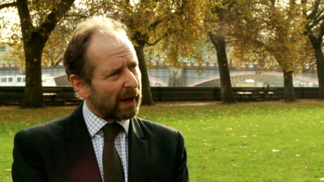 gas companies accused of price fixing london ext adam scorer interview sot - ローラ・クエンスバーグ点の映像素材/bロール