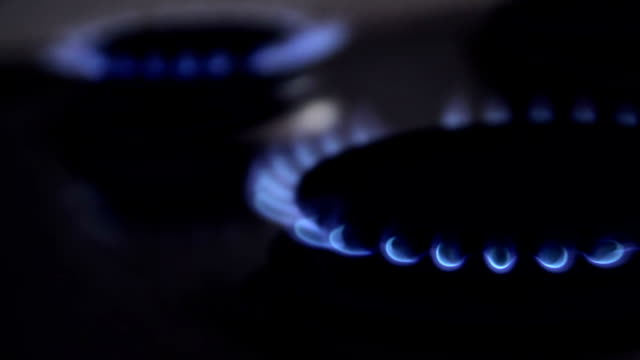 gas cooking stove - stove stock videos & royalty-free footage