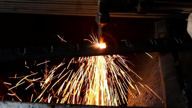 gas cutting - welding torch stock videos & royalty-free footage