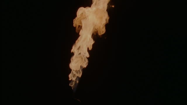 gas flame against black background - gas stock videos & royalty-free footage