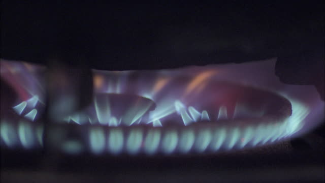 gas flame under wok, beijing. - gas stock videos & royalty-free footage