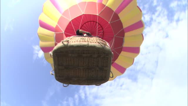 gas hot air balloon image - 熱気球点の映像素材/bロール