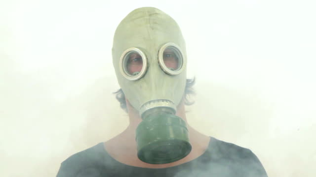 gas mask - asthmatic stock videos and b-roll footage