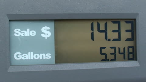 gas & petrol prices soaring - petrol stock videos & royalty-free footage