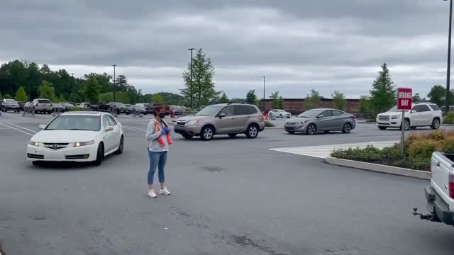 gas shortages and long lines outside gas stations are spreading across states in the us southeast such as north carolina, south carolina, virginia,... - north carolina us state stock videos & royalty-free footage