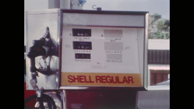 gas signs gas quotas and speed limits at the hawaii regional exchange service station - notice board stock videos and b-roll footage