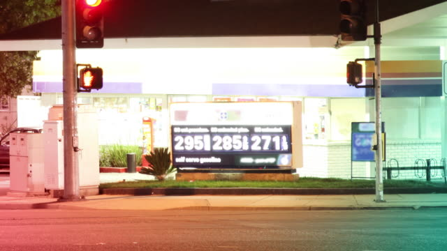 Gas Station Time Lapse - HD