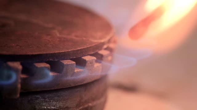 Gas stove Zündschloß