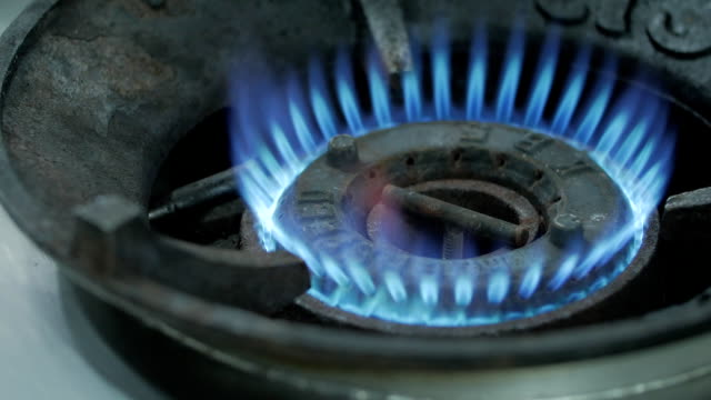gas stove - turning on or off stock videos & royalty-free footage
