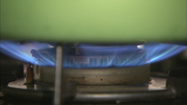 gas stove - domestic kitchen stock videos & royalty-free footage