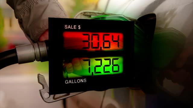 gasoline sales - printout stock videos & royalty-free footage