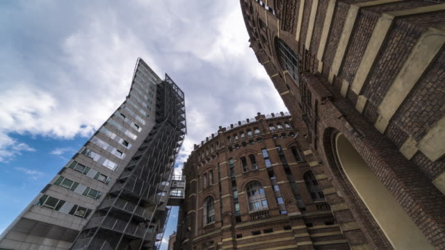 gasometer city, wien - wien stock-videos und b-roll-filmmaterial