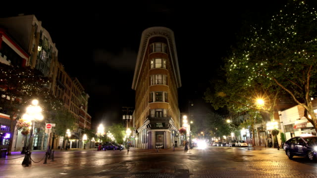 gastown, vancouver, canada - roman numeral stock videos & royalty-free footage