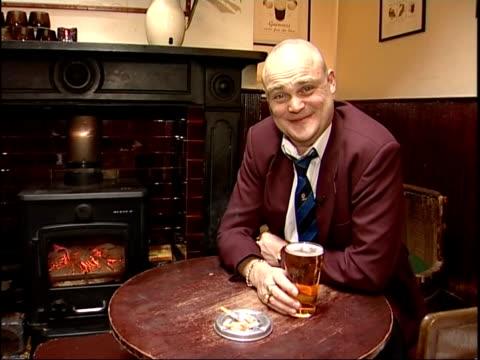 al murray's view; the pub landlord on gasto pubs sot cutaways people sitting eating food in gasto pub woman drinking pint of beer - al murray stock videos & royalty-free footage