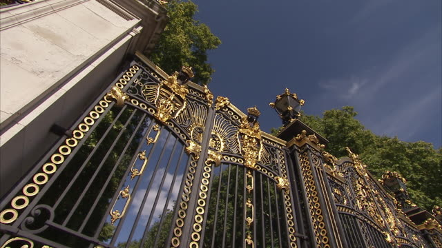 Gates of Buckingham Palace London Available in HD.