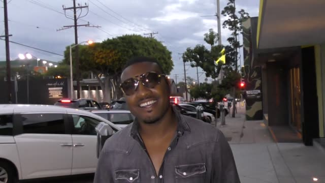 INTERVIEW Gatsby Randolph talks about groupies taking pics of the celeb they hook up with in bed outside Craigs Restaurant in West Hollywood in...