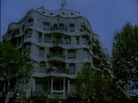 MS Gaudis Melted House, La Pedrera, Barcelona, Spain
