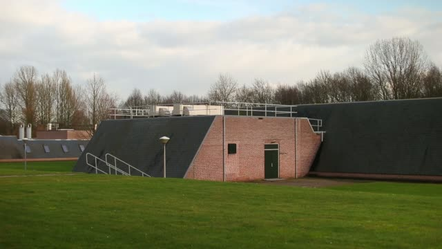 gauges are seen at the engelse werk drinking water pumping station operated by vitens nv as water is cleansed in zwolle netherlands on friday jan 10... - water pumping station stock videos & royalty-free footage