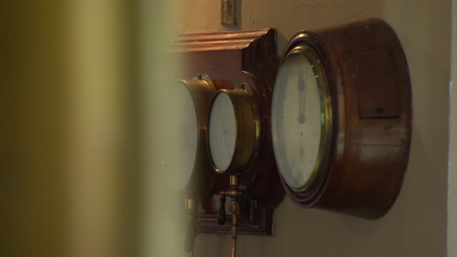 gauges at papplewick pumping station - pumping station stock videos & royalty-free footage