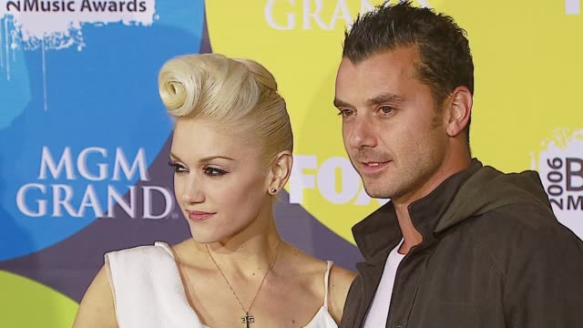 Gavin Rossdale and Gwen Stefani at the 2006 Billboard Music Awards at the MGM Grand Hotel in Las Vegas Nevada on December 4 2006