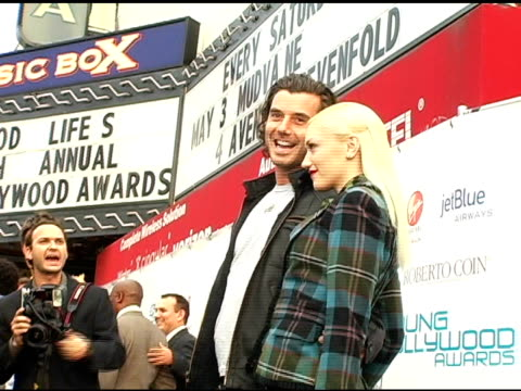 Gavin Rossdale and Gwen Stefani at the Hollywood Life's Young Hollywood Awards and AfterParty Sponsored by Axe on May 1 2005