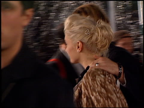 Gavin Rossdale and Gwen Stefani at the Premiere of 'The Mexican' at National in Westwood California on February 23 2001