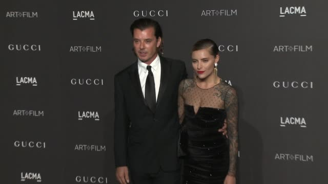 Gavin Rossdale and Sophia Thomalla at the 2018 LACMA Art Film Gala Honoring Catherine Opie Guillermo Del Toro And Presented By Gucci at LACMA on...