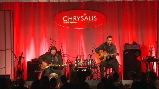 PERFORMANCE Gavin Rossdale at 13th Annual Chrysalis Butterfly Ball in Los Angeles CA